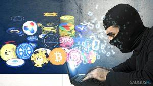 Kriptovaliutos kasimo virusai, ir kaip jų išvengti