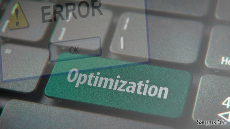 Kodėl verta turėti kompiuterio optimizavimo programą? ekrano nuotrauka