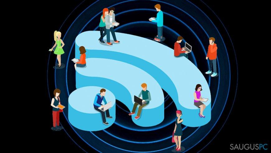 Viešas WiFi ryšys nėra saugus