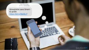 """Kibernetiniai sukčiai siekia apgauti """"Smart-ID"""" naudotojus"""