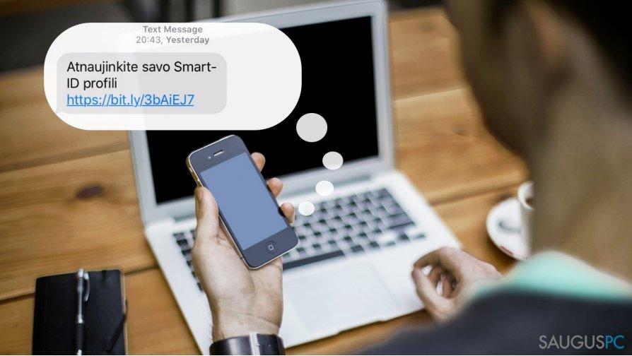 """Kibernetiniai nusikaltėliai nusitaikė į """"Smart-ID"""""""