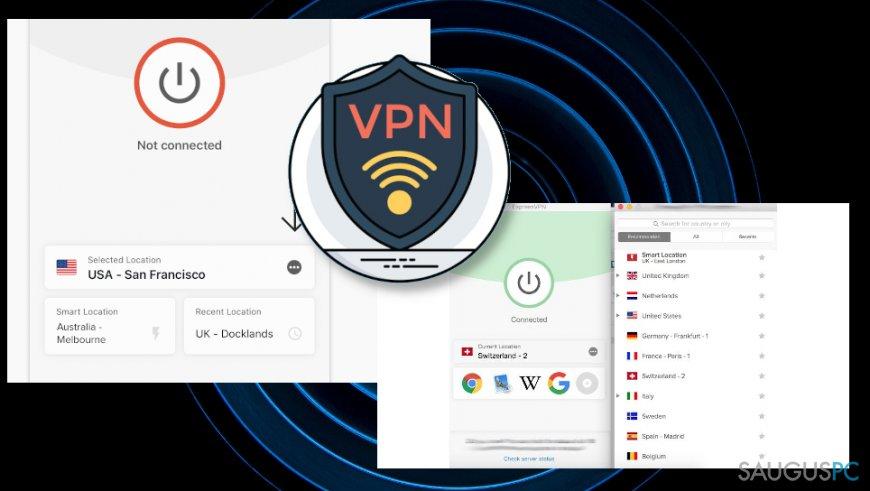 VPN paslauga