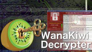 Kaip su Wanakiwi programa atkurti failus, kuriuos užkodavo Wannacry virusas?