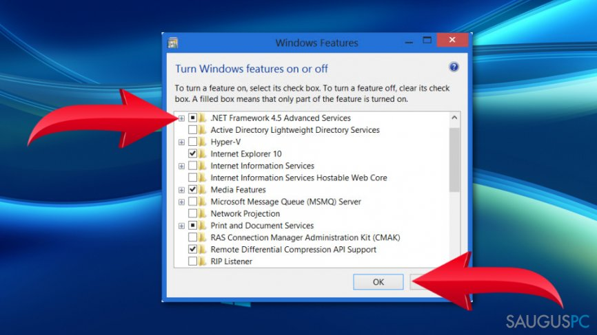 Windows 10 Error Code: 0x800F0922 klaida