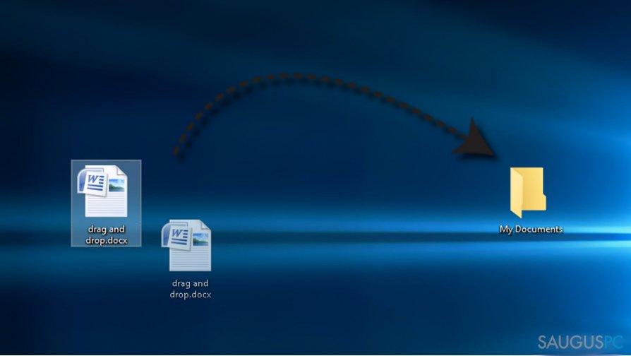Kaip ištaisyti neveikiančią Drag and Drop funkciją Windows10 sistemoje