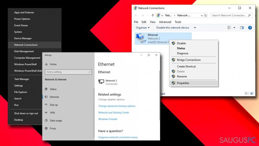 Microsoft kliento konfiguracija