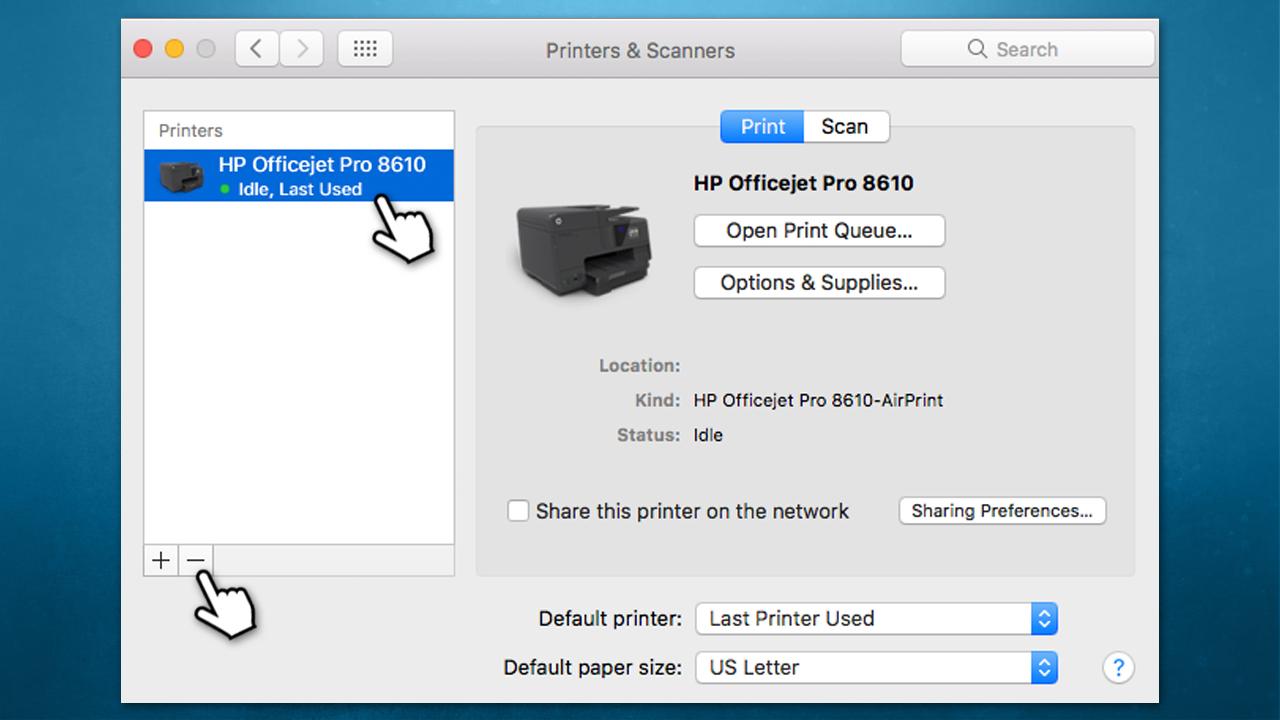Patikrinkite HP spausdintuvą