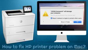Kaip ištaisyti HP spausdintuvo klaidas Mac kompiuteryje?
