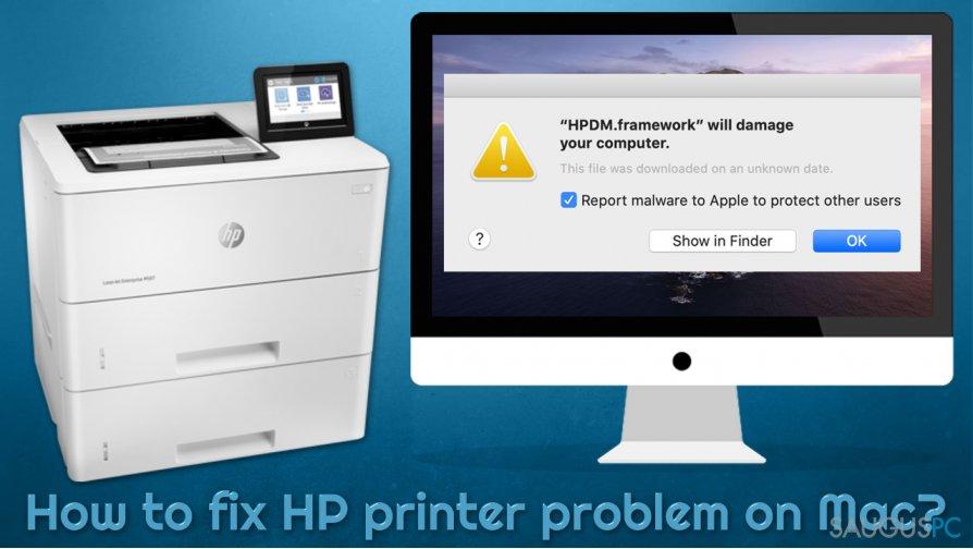 Kaip ištaisyti įvairias HP spausdintuvo klaidas Mac kompiuteryje