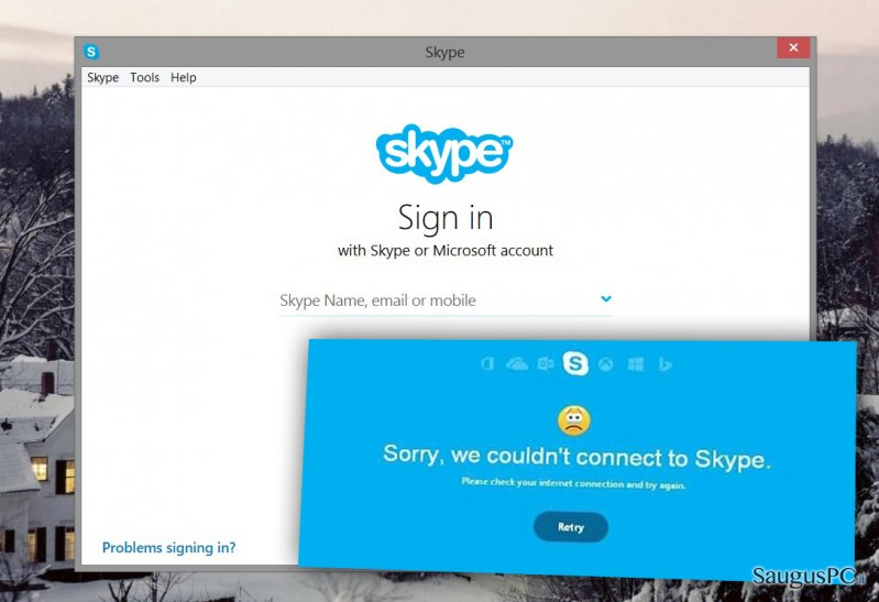 How to Fix Skype Connection Problems?