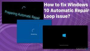 """Kaip ištaisyti Windows 10 """"Automatic Repair"""" klaidą?"""