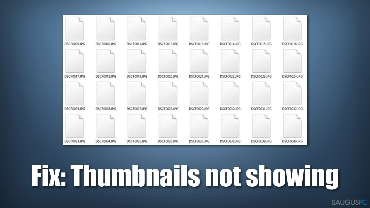 """Ką daryti, jei """"Windows"""" nerodo nuotraukų miniatiūrų?"""