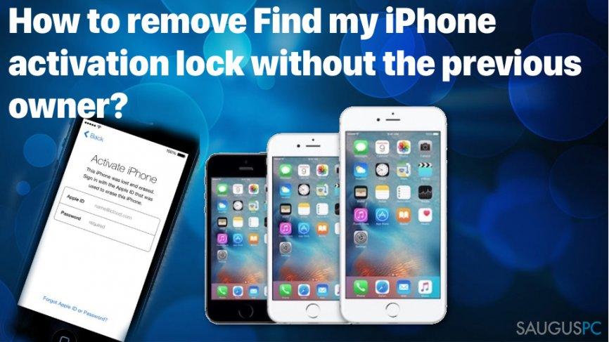 Kaip išspręsti Find my iPhone activation lock problemą