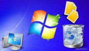 Kaip atkurti iš šiukšlinės ištrintus failus