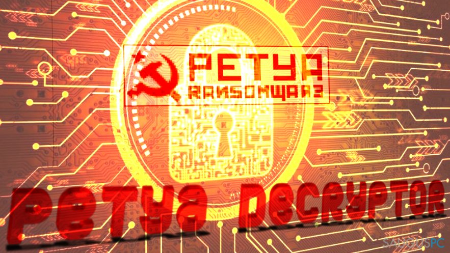 How to Recover Files Encrypted by Petya Ransomware?