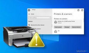 """Kaip sutvarkyti neveikiantį spausdintuvą po """"Windows 10"""" atnaujinimo?"""