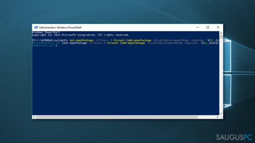 Windows 10 skaičiuotuvo pataisymas