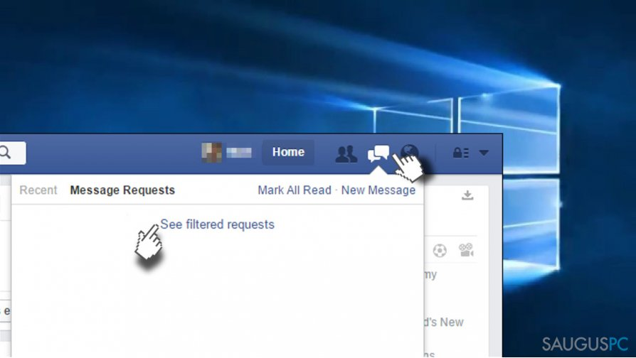 How to Find Hidden Messages and Filtered Message Requests in Facebook?