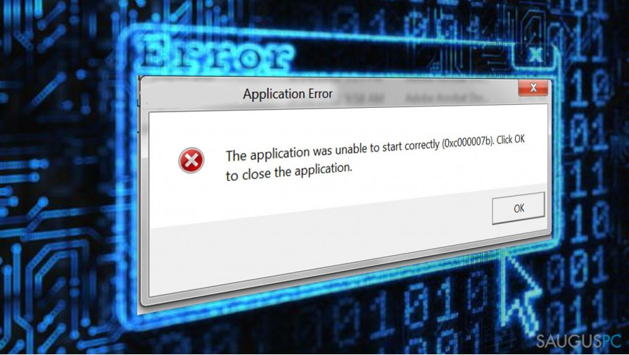 """How to Fix """"The application was unable to start correctly (0xc000007b)"""" Error on Windows?"""