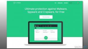 Kaip pašalinti ByteFence antivirusinę programą iš Windows?