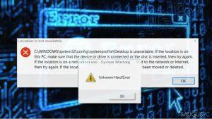 """Kaip pašalinti """"Unknown Hard Error"""" klaidą Windows 10 operacinėje sistemoje?"""