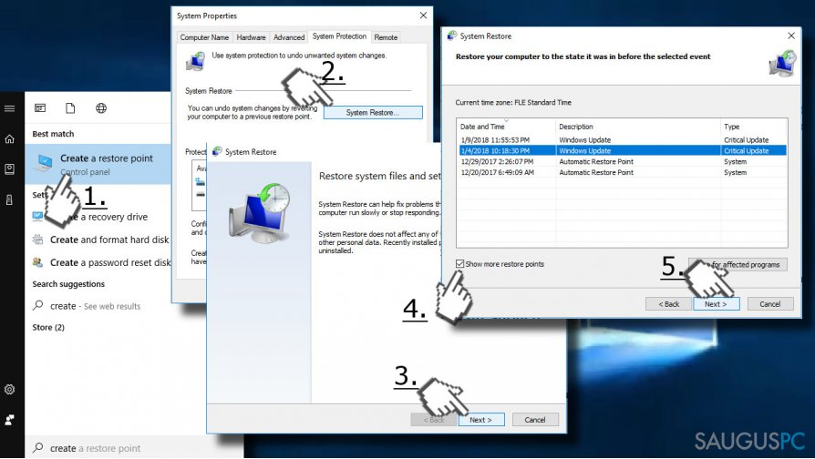 Use System Restore Point