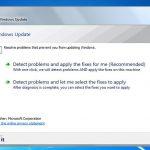 Run Windows Update Troubleshooter paleidimas