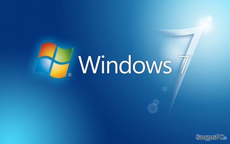 Windows 7  ekrano nuotrauka
