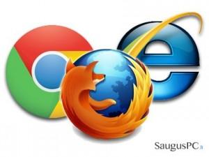 Internet Explorer, Mozilla ar Chrome. Kurią naršyklę pasirinkti?