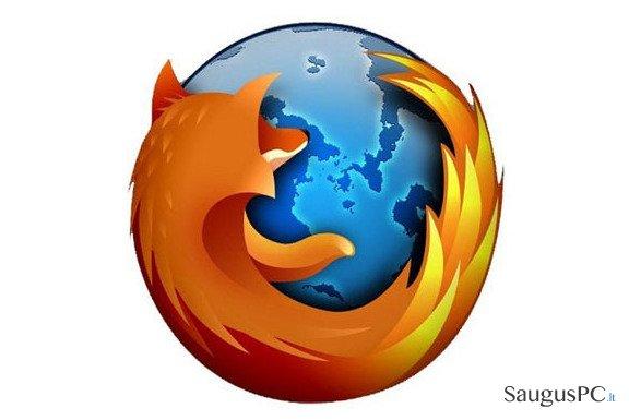 Atnaujinkite Firefox naršyklę kad išvengtumėte failų vagystės
